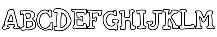 oldies cartoon Font UPPERCASE