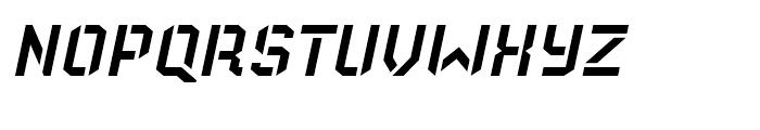 Old Depot Italic Font UPPERCASE