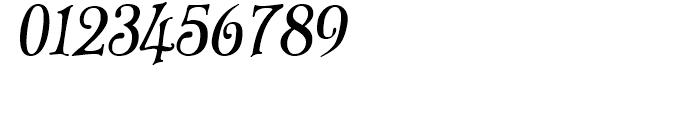 Old Paris Nouveau Italic Font OTHER CHARS