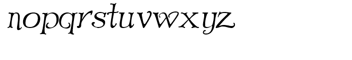 Old Paris Nouveau Italic Font LOWERCASE