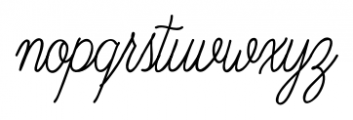 Old Harbour Blue Waves Font LOWERCASE