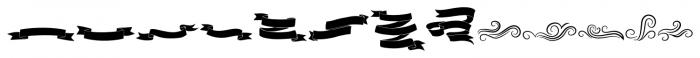 Old Harbour Dingbats Font LOWERCASE