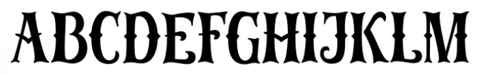 Old Harbour Old Anchor Font UPPERCASE