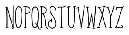 Old Harbour Sailor's Tattoo Sans Font UPPERCASE