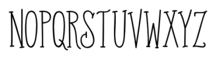 Old Harbour Sailor's Tattoo Sans Font LOWERCASE