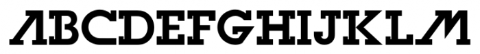 Olim Futura Bold Font UPPERCASE
