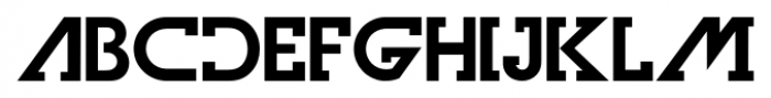 Olim Futura Bold Font LOWERCASE