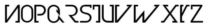 Olim Futura Book Font LOWERCASE