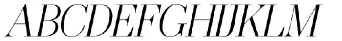 OL America The Beautiful Medium Italic Font UPPERCASE