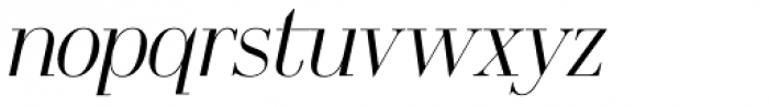 OL America The Beautiful Medium Italic Font LOWERCASE