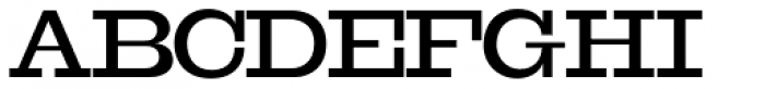 OL Egiziano Medium Font UPPERCASE