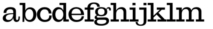 OL Egiziano Medium Font LOWERCASE