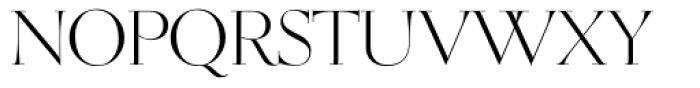 OL Egmont Light Font UPPERCASE