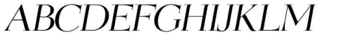 OL Egmont Medium Italic Font UPPERCASE
