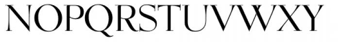 OL Egmont Medium Font UPPERCASE