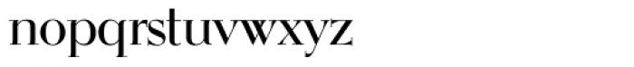OL Egmont Medium Font LOWERCASE
