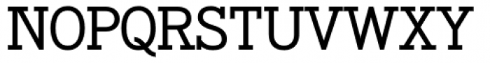 OL Egyptian Medium Font UPPERCASE