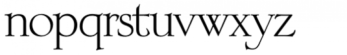 OL Engravers Classic Roman Font LOWERCASE