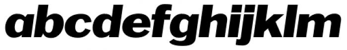 OL Franklin Wide Italic Font LOWERCASE