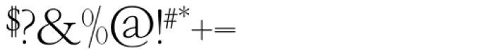 OL Garamond Light Font OTHER CHARS