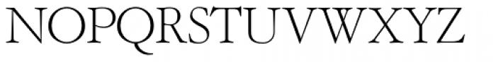 OL Garamond Light Font UPPERCASE