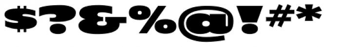 OL London Black Font OTHER CHARS