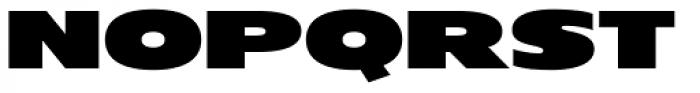OL London Black Font UPPERCASE