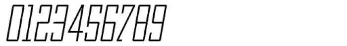 OL Manhattan Light Italic Font OTHER CHARS