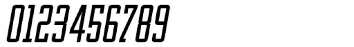 OL Manhattan Medium Italic Font OTHER CHARS