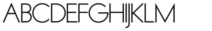 OL Round Gothic Medium Font UPPERCASE