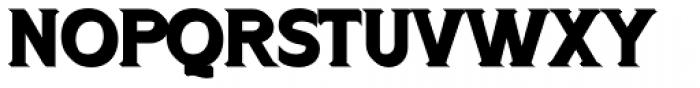 OL Signpainter Titling Cast Shadow Font LOWERCASE