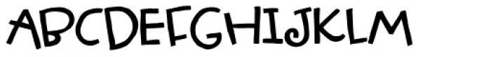 Olazy Font UPPERCASE
