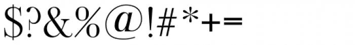 Old Baskerville TS Light Font OTHER CHARS