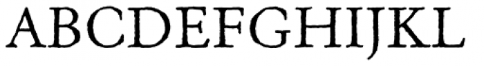 Old Claude Std Font UPPERCASE
