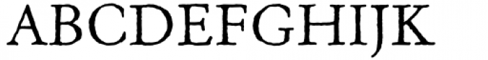 Old Claude Font UPPERCASE