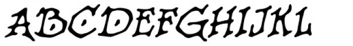 Old Crone BB Italic Font UPPERCASE