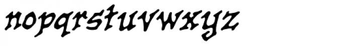 Old Crone BB Italic Font LOWERCASE