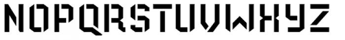 Old Depot Font UPPERCASE