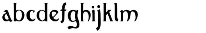 Old Earthy Font LOWERCASE