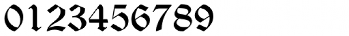 Old English Text Std Font OTHER CHARS