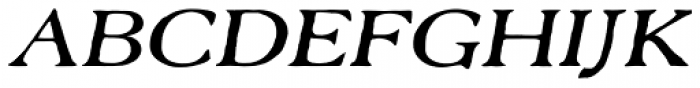 Old Forge Expd Italic Font UPPERCASE