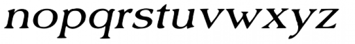 Old Forge Expd Italic Font LOWERCASE