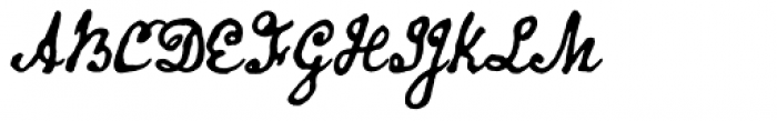 Old Man Eloquent Bold Font UPPERCASE