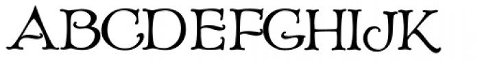 Old Paris Nouveau Titling Font UPPERCASE