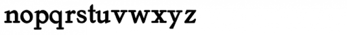 Old Roman Bold Font LOWERCASE