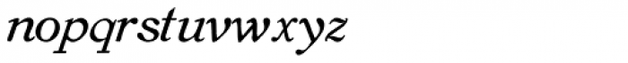 Old Roman Italic Font LOWERCASE