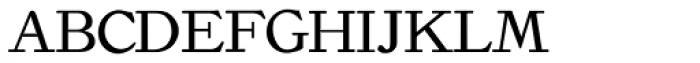 Old Roman Font UPPERCASE