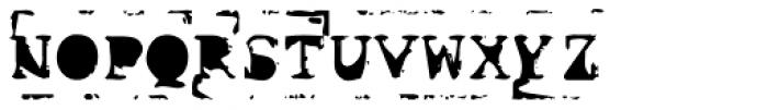 Old Stefan No 2 Font UPPERCASE