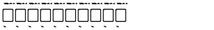 Old Stefan No 3 Font OTHER CHARS