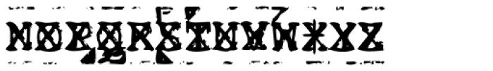 Old Stefan No 3 Font UPPERCASE
